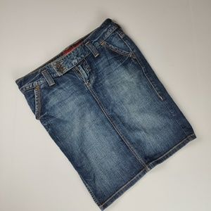 Guess Jeans Denim Skirt Size 27